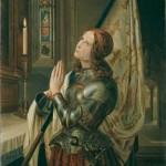 Jeanne d'Arc priant