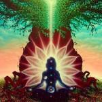 méditation en connexion avec l'Univers