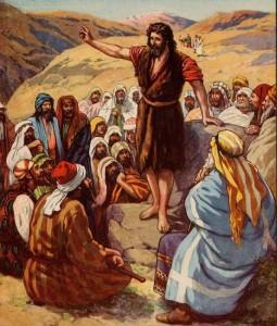 Jean le Baptiste prêchant