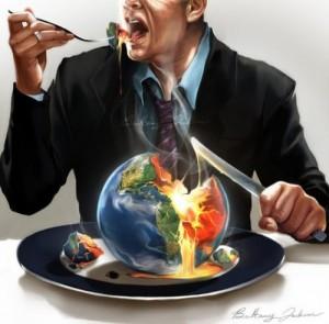 manger la Terre