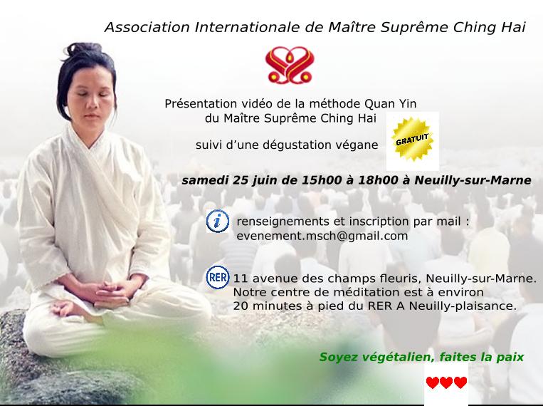 Tract présentation vidéo de la méthode Quan Yin